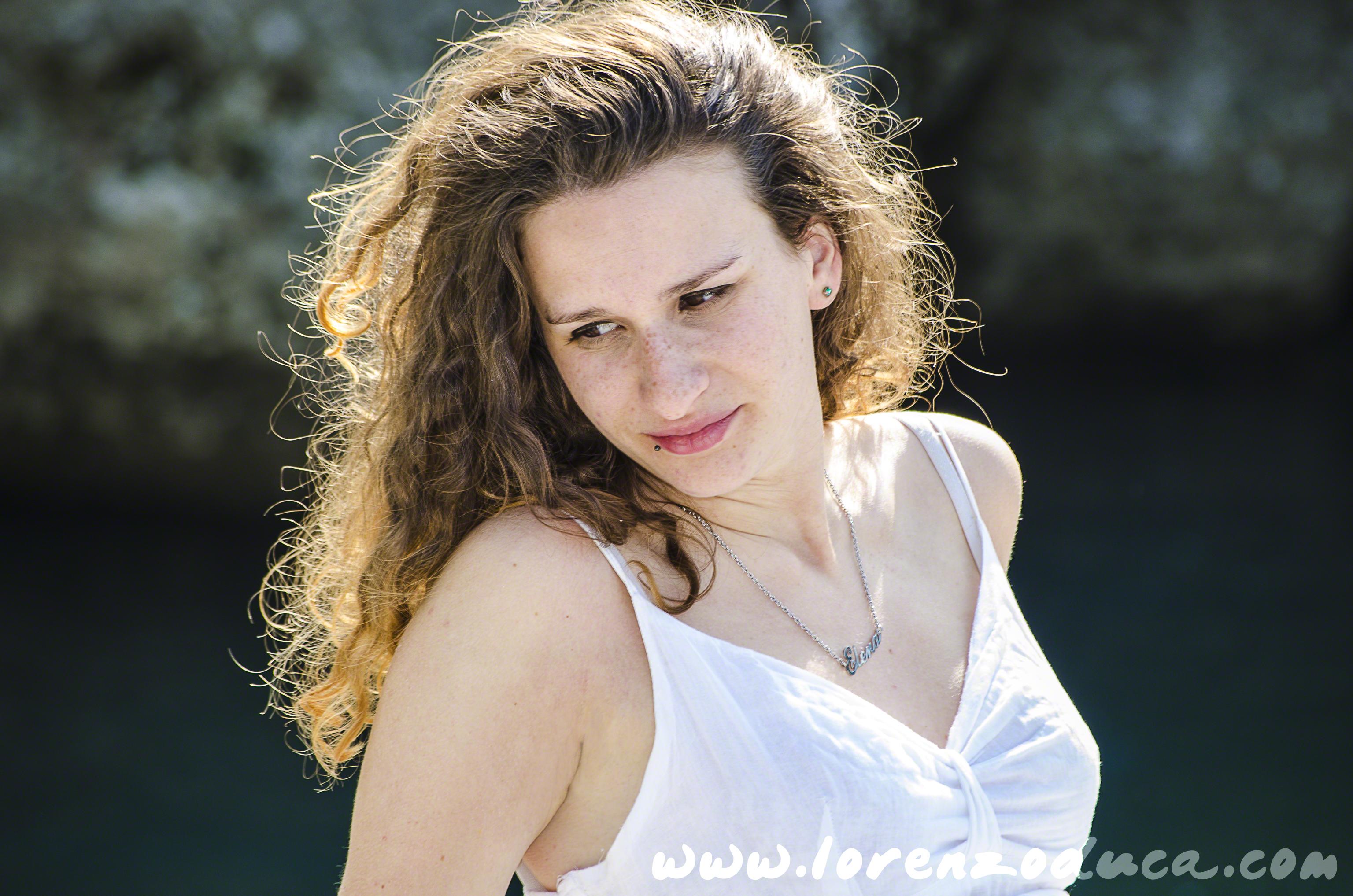 Elena, Model, Shooting, Natisone