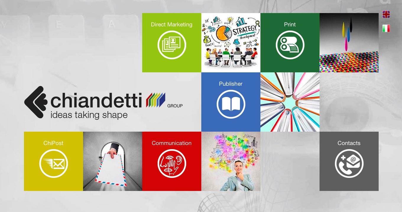 Il nuovo sito Chiandetti Group è online: www.chiandetti.it